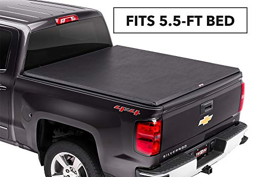 TruXedo TruXport Soft Roll Up Truck Bed Tonneau Cover   271801   fits 14-18, 2019 Limited/Legacy GMC Sierra & Chevrolet Silverado 1500  5'8' bed