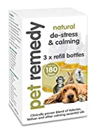 Pet Remedy Natural De-Stress and Calming Refill Pack, 40 ml, Pack of 3…