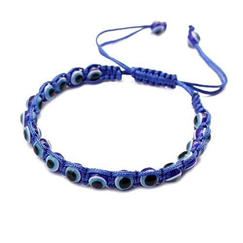 Gjyia Turkse Boze Oog Handgemaakte Religieuze Blauwe Kralen Lucky Armbanden Mode Sieraden