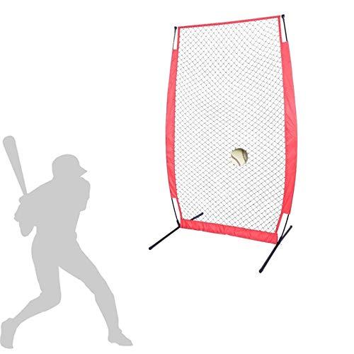 Red de Práctica de Béisbol Red Duradero de béisbol de softbol portátil con la Bolsa de Entrenamiento de Softball Exterior de la Bolsa de Arco para el Camping del Patio