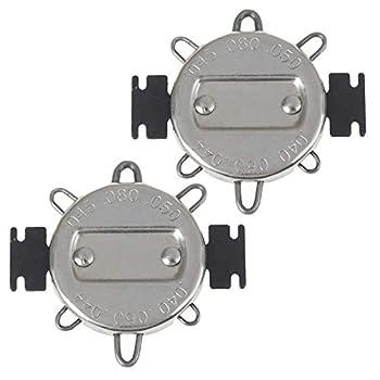 NACHEE 2 Pieces 6 Wire Spark Plug Gap Gauge Spark Plug Gap Adjustment Tool Metric Standard Inches Gauge for Motorcycles