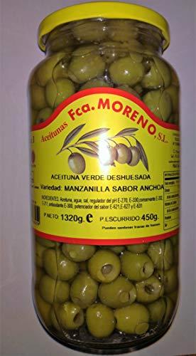 Spanische grüne Oliven Manzanilla ohne Stein