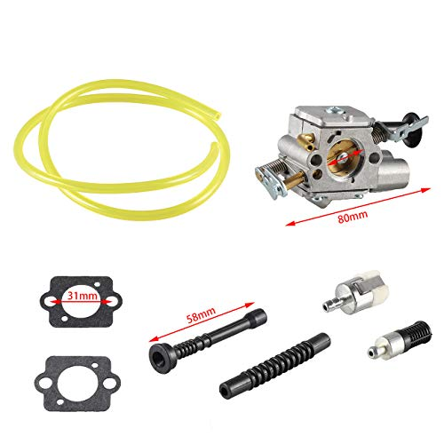 Supermotorparts Carburetor For Stihl MS261 MS271 MS291 Chainsaw Carb Zama C1Q-S252