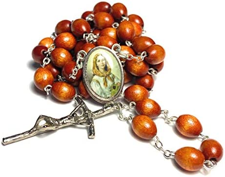 Relic Rosary 3rd Class St Dymphna Patron Alzheimer s Disease Mental neurological Disorders Runaways product image