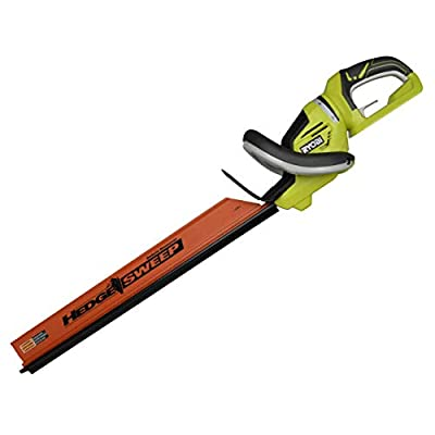RYOBI RY40602 40 Volt 24-inch Hedge Trimmer w/Rotating Handle (Bare Tool) (Renewed)