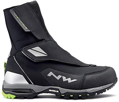 Northwave Celsius GTX Ártico 2 Zapatillas de Ciclismo, de Invierno con Gore Tex GTX Negro/Azul, Tamaño:gr. 46