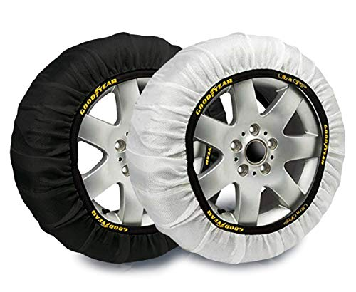 Goodyear GOD8012 Textil Schneeketten Ultra Grip Größe L, 2er Set, L, Set of 2