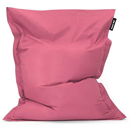 Bean Bag Bazaar - Brezo Rosa, 180cm x 140cm, Puf Gigante para Interiores y Exteriores – Puff Enorme, Ideal para Usar en el Hogar y el Jardín