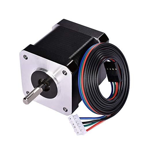 4pcs for Nema17 Stepper Motor 48mm for Nema 17 42 Motor 1.7A (17HD48002) 3D Printer Parts Motor and for CNC XYZ (Size : 4PC)