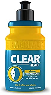 HeadBlade ClearHead Men's Refreshing Post Shaving Aftershave Lotion 5oz