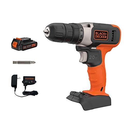 beyond by BLACK+DECKER 20V MAX Cordless Drill/Driver (BCD702C1AEV) (Renewed)