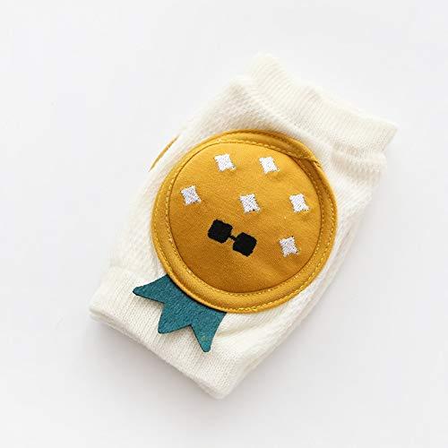 LIXUDECO Warm Socks - 1 par de rodilleras protectoras para bebés, calentadores de piernas de malla transpirable para niños y niñas (color: 1)
