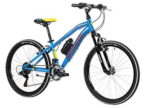 Cicli Lombardo Fahrrad MTB 24 Tropea blau/rot/gelb DY2403