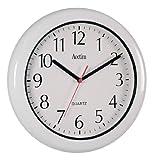 Acctim 93-701 Oceana Reloj de Pared Resistente al Polvo y al Agua, Color Blanco