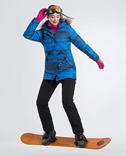 JSGJHXF Ski Tute Skipak voor dames en ski-jack, waterdicht winterjack van ski-jack van hoge kwaliteit, voor dames en broek
