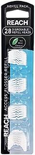J&J REACH ACCESS DENTAL FLOSSER REFILLS 28 PER PACK (F5433)