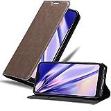 Cadorabo Hülle für Xiaomi Mi A2 LITE/RedMi 6 PRO in Kaffee BRAUN - Handyhülle mit Magnetverschluss, Standfunktion & Kartenfach - Hülle Cover Schutzhülle Etui Tasche Book Klapp Style
