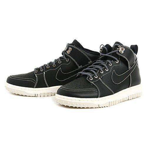 Nike Dunk CMFT WB, Zapatillas de Baloncesto para Hombre, Negro/Blanco/Gris (Black/Black-Dark Grey-Lght Bn), 41 EU