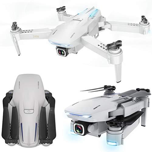 HJKPM S162 Plegable Avión No Tripulado GPS, 5G HD 4K Profesional De Drones con El Bolso Y 3 Módulos De Baterías Soporte Fotografía Aérea Y El Gesto De Fotografía para Estimular La Creatividad