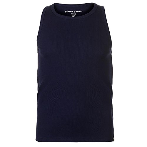 Pierre Cardin Heren Geribbeld Vest Top Mouwloos