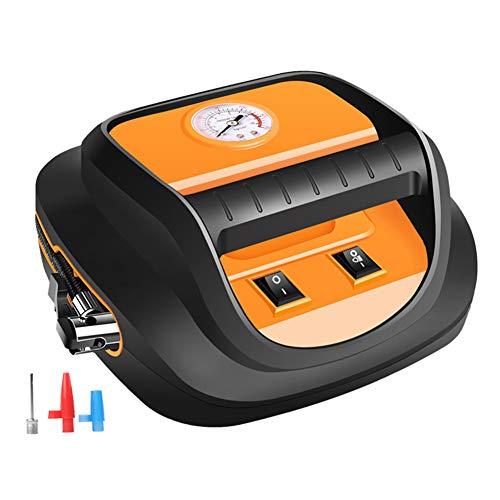 xb Inflador de neumáticos Digital de 12 V, compresor de Aire con Parada automática, Bomba de neumáticos para compresor de Aire, adaptadores de válvula, Bomba de compresor de Aire portátil