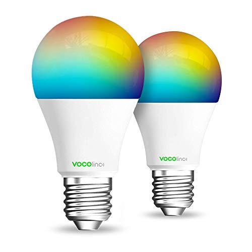 VOCOlinc L1 MultiColor LED Smart Light Bulbs Compatible With Apple HomeKit