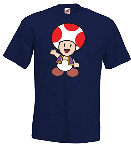 Youth Designz Herren T-Shirt Modell Toad - Navyblau S