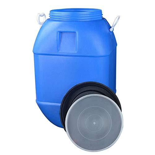 MNSSRN Cubo de Agua Cubo de Almacenamiento para el hogar, Cubo de plástico de Grado alimenticio Espesado con Tapa de fermentación Cubo cálculo de enzimas Miel Cubo Cubo Cubo 25L-60L,25L