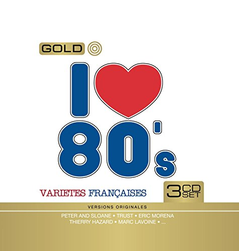 I Love 80\'s Variété Française (Coffret Metal 3 CD)