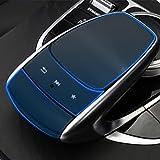 ADHUMER 2 juegos consola central escritura ratón película protectora compatible para Mercedes Benz W205 W213 GLC C E clase 2015 - pegatinas de coche