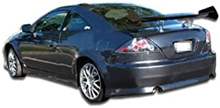 Brightt Duraflex ED-WJY-886 V-Speed Rear Bumper Cover - 1 Piece Body Kit - Compatible With Accord 2003-2007