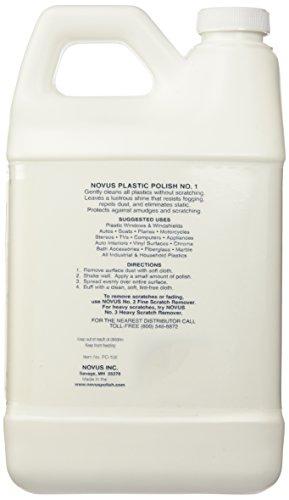 Novus PC-108 Plastic Clean & Shine - 64 oz.