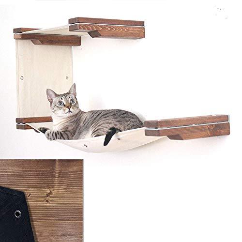 La mejor hamaca para gatos de pared