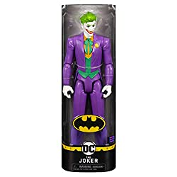 12-INCH ACTION FIGURE: With 11 points of articulation, it's easy to pose this 12-inch JOKER action figure into a variety of dynamic action poses. Create your own epic good vs. evil adventures! AUTHENTIC COMIC STYLING: This articulated action figure i...