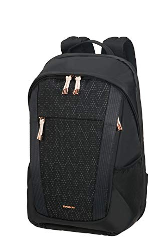 Samsonite 2WM Lady - Laptop Rucksack, 42 cm, 14.5 Liter, Black