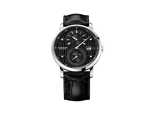 Louis Erard Excellence Regulator Automatik Uhr, Schwarz, 40 mm, 86236AA02.BDC51