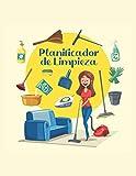 PlanificadordeLimpieza: Planificador Diario De Clean Mama / Planificador De Tareas Domésticas / Planificador De Tareas / Libro De Tareas Domésticas / Lista De Tareas De Limpieza De La Casa