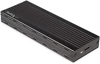 StarTech.com M.2 NVMe SSD Enclosure for PCIe SSDs - USB 3.1 Gen 2 Type-C - External NVMe Enclosure - Thunderbolt 3 Compatible (M2E1BMU31C)