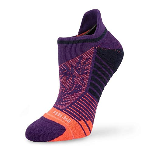 Stance Palm Tab No Show Socks in Purple (Small)
