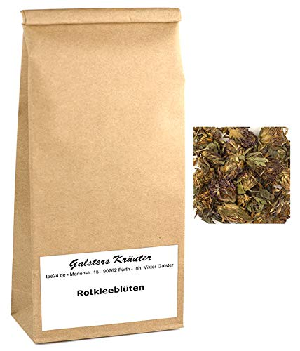 500g Rotkleeblüten Rot-Klee-Tee Wildsammlung Wiesenklee | Galsters Kräuter