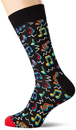 Happy Socks Herren City Jazz Socken, Schwarz (Black 930), 7/10 (Herstellergröße: 41-46)