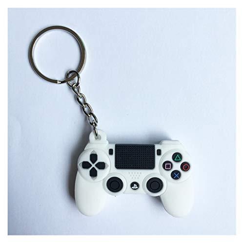 Hzdmfgs Schlüsselbund PVC-Cartoon-Spiel-Controller-Schlüsselanhänger Nette Gamepad Freund Joystick Schlüsselanhänger Männer Jungen Tasche Anhänger Geschenk Keychain (Color : A1)