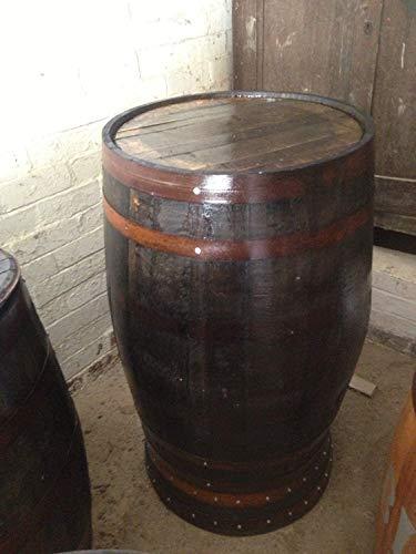 Gerecyclede rustieke eiken whisky vat Bar Poseur tafel