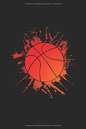 "Basketball: 6""x 9"" Notizbuch Dotgrid 120 Seiten"