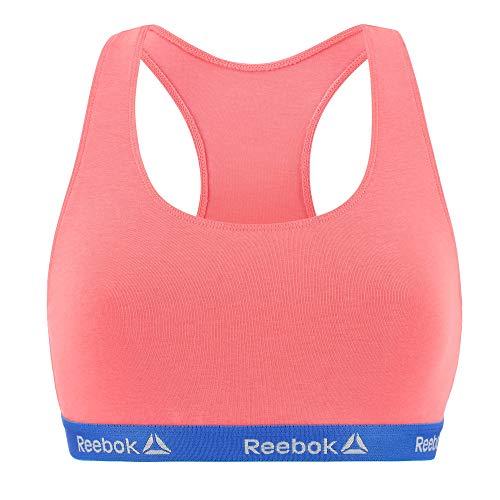 Reebok Unitario T352-1 Top Deportivo para Mujer Color, Rosa-Azul, M