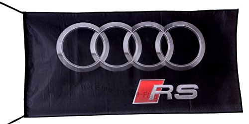 Audi Flagge Banner RS 3 x 5 ft