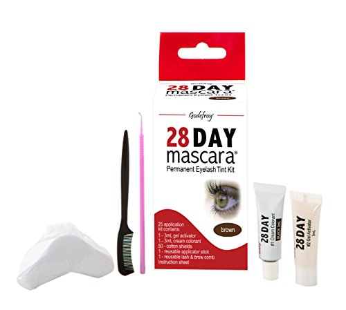 Godefroy 28 Day Mascara Brown (25 Application) by Godefroy