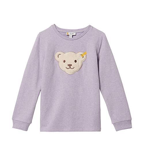 Steiff Mädchen Sweatshirt Quietsche Bär L00191 3211 (86, Pastel Lilac)