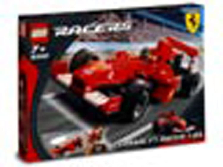 Lego Racers 8362 - modellolino di Ferrari F1, Miniatura