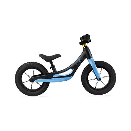 Rebel Kidz - Bicicleta infantil (aleación de magnesio), color negro y azul